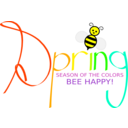 Spring With Bee