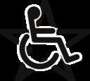 Wheelchair In A Star