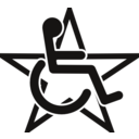 Wheelchair In A Star