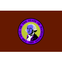 download Washington State Flag clipart image with 225 hue color