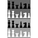 2d Chess Set Pieces
