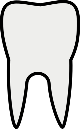 Tooth line art clipart i2clipart royalty free public domain