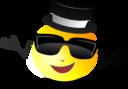 Cool Dapper Shruggy Smiley
