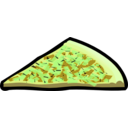 download Pizza Slice 01 clipart image with 45 hue color