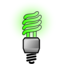 download Energy Saver Lightbulb Bright clipart image with 45 hue color
