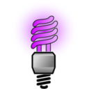 download Energy Saver Lightbulb Bright clipart image with 225 hue color