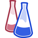 download Chemical Flasks clipart image with 135 hue color