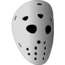 download Hockey Mask clipart image with 225 hue color