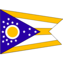 download Flag Of The State Of Ohio clipart image with 45 hue color
