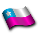 download Chilean Flag 3 clipart image with 315 hue color