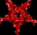 Pentagramme Taches Rouges