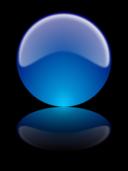 Glossy Sphere W Reflex Esfera Brillante Con Reflejo