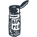download Blackpepper clipart image with 315 hue color