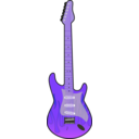 download Guitar clipart image with 225 hue color