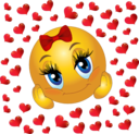 Lover Girl Smiley Emoticon