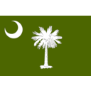 download Flag Of South Carolina clipart image with 225 hue color