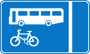 Roadsign Bus Lane
