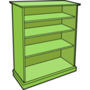 download Wooden Bookcase clipart image with 45 hue color