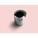 download Film clipart image with 135 hue color