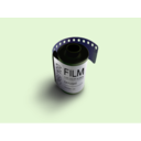 download Film clipart image with 225 hue color