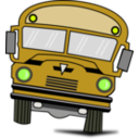 download Autobus clipart image with 45 hue color