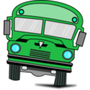 download Autobus clipart image with 135 hue color