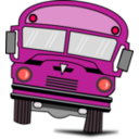 download Autobus clipart image with 315 hue color