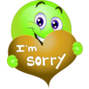 download Sorry Boy Smiley Emoticon clipart image with 45 hue color