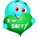 download Sorry Boy Smiley Emoticon clipart image with 135 hue color