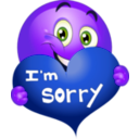 download Sorry Boy Smiley Emoticon clipart image with 225 hue color