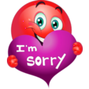 download Sorry Boy Smiley Emoticon clipart image with 315 hue color