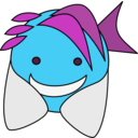 download Fish clipart image with 135 hue color