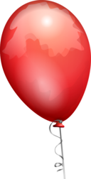 Balloon Red Aj