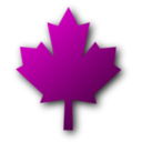 download Maple Leaf clipart image with 315 hue color