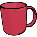 download Mug clipart image with 135 hue color