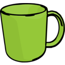 download Mug clipart image with 225 hue color