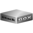 download Black Box Abstract clipart image with 315 hue color