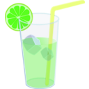download Lemonade Glass Remix clipart image with 45 hue color