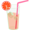 download Lemonade Glass Remix clipart image with 315 hue color