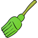 download Broom clipart image with 45 hue color