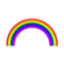 Simple Rainbow With Blur