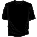 download Black T Shirt clipart image with 135 hue color