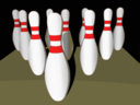 Bowling Pins Shaded