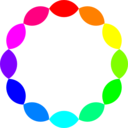 12 Football Rainbow