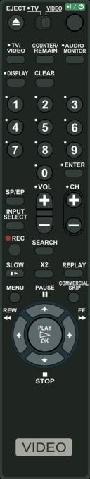 Vcr Remote Control