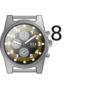 download Chronograph Watch clipart image with 45 hue color