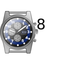 download Chronograph Watch clipart image with 225 hue color
