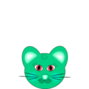 download Cat clipart image with 135 hue color