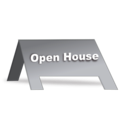 download Open House Signage clipart image with 135 hue color