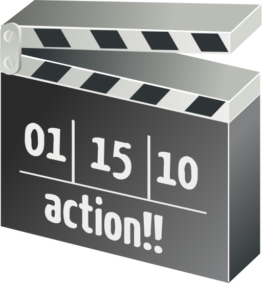 Movie Clapperboard Clipart I2clipart Royalty Free Public Domain